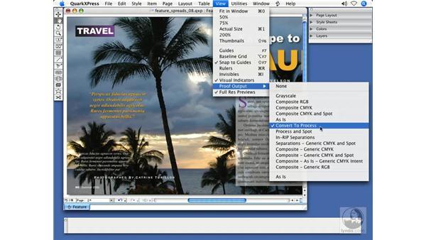 Automatic color management: QuarkXPress 7 New Features