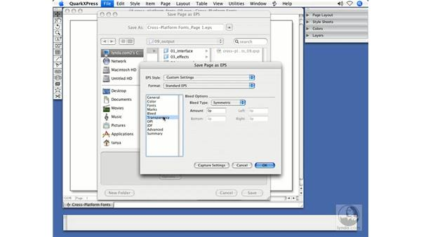 Embedding fonts in EPS files: QuarkXPress 7 New Features