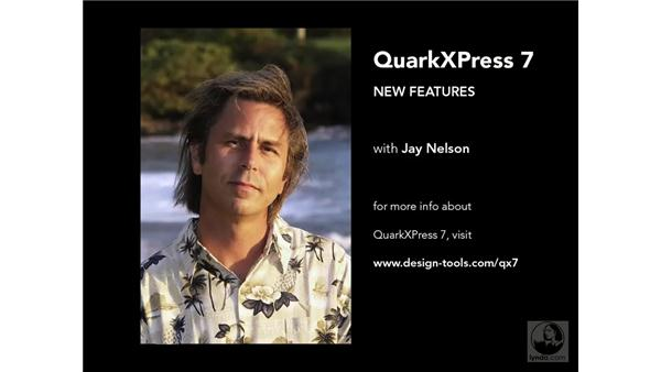 Goodbye: QuarkXPress 7 New Features