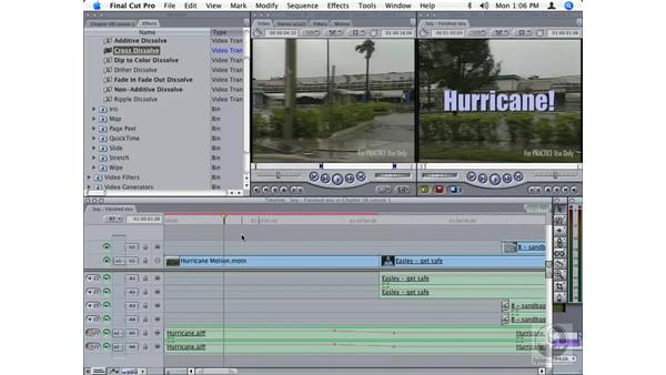 Moving files between Final Cut Pro and Motion: Final Cut Studio Integration