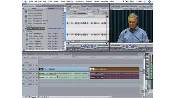 Moving files between Final Cut Pro and Soundtrack Pro audio file projects: Final Cut Studio Integration
