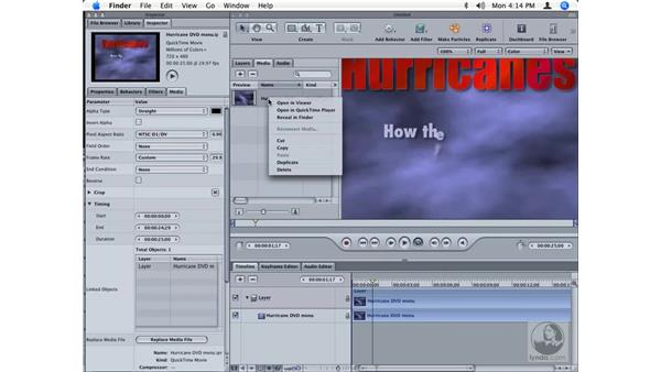 Moving files between Motion, LiveType and Soundtrack Pro: Final Cut Studio Integration