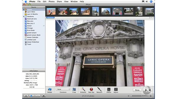 New features: iPhoto 6 Essential Training
