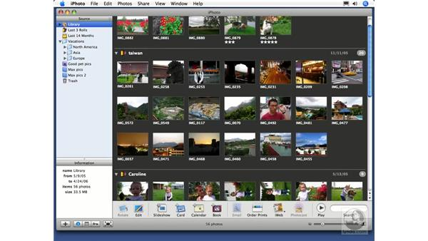 Burning a backup CD or DVD: iPhoto 6 Essential Training