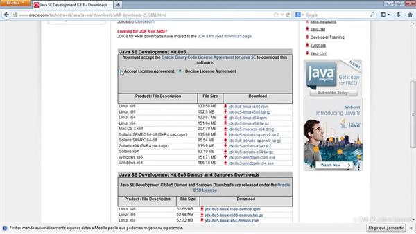 Instalación de JDK (Java Development Kit)