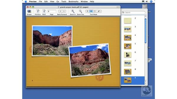 Ordering a photo book pt. 3: iPhoto 6 Essential Training