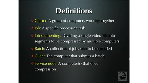 What is distributed encoding?: Compressor 2.1 Essential Training