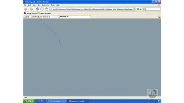 Programmatic drawing: ActionScript 3.0 in Flex Builder 2.0 Essential Training