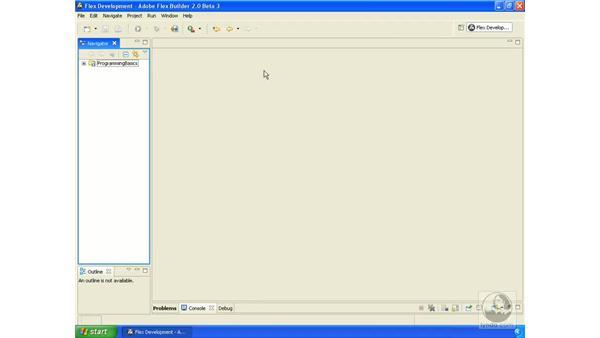 Goodbye: ActionScript 3.0 in Flex Builder 2.0 Essential Training