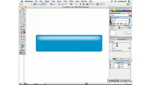 Simple gel buttons: Illustrator CS2 Creative Techniques