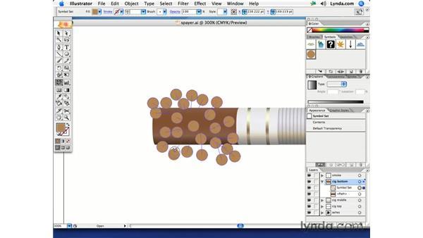 Symbol Sprayer techniques: Illustrator CS2 Creative Techniques