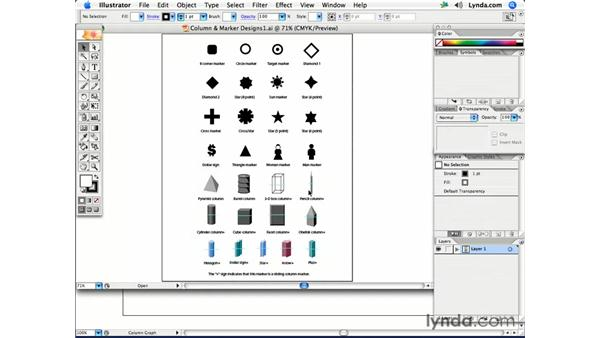 Dynamic bar charts: Illustrator CS2 Creative Techniques