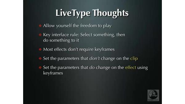 Welcome: LiveType 2 Essential Training