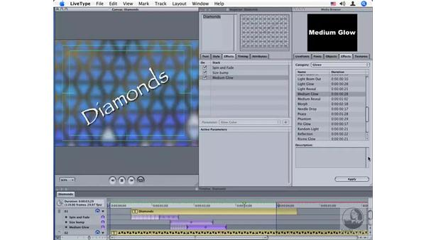 Creating custom effects pt. 4: LiveType 2 Essential Training