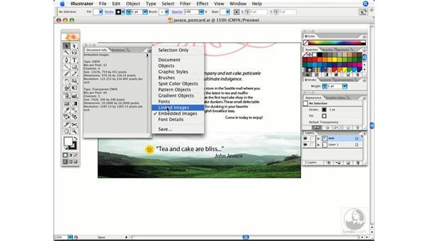 Viewing file information easily: Illustrator CS2 Power Shortcuts