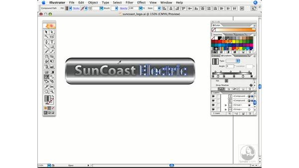 Applying color and swatches: Illustrator CS2 Power Shortcuts