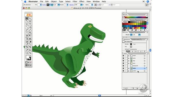 Layer shortcuts: Illustrator CS2 Power Shortcuts