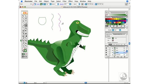 Combine two open paths with the pencil tool: Illustrator CS2 Power Shortcuts
