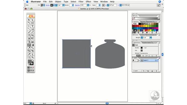 Mesh creation tip: Illustrator CS2 Power Shortcuts