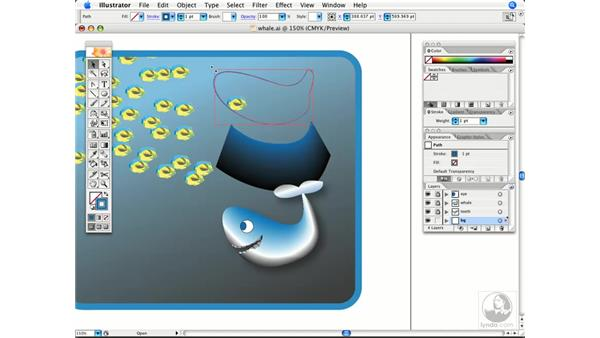 Blending tips: Illustrator CS2 Power Shortcuts