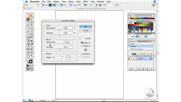 Drawing the other half: Illustrator CS2 Power Shortcuts