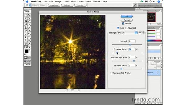 """What is """"noise"""" and how can I avoid or reduce it?: Photoshop CS2 FAQs"""