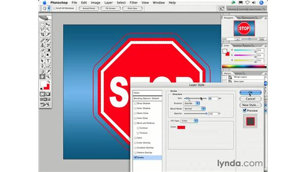 How do I create a stroke with sharp corners instead of rounded corners?: Photoshop CS2 FAQs