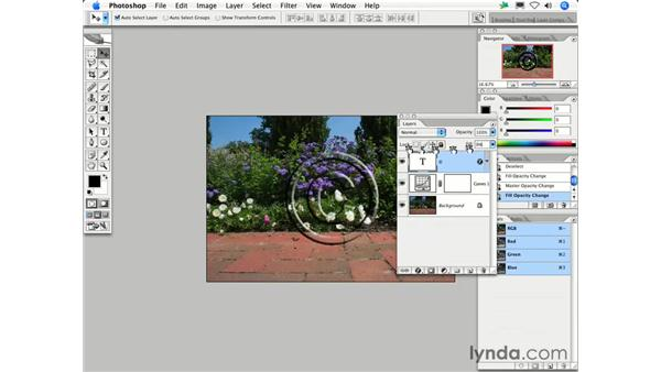 What is the difference between Opacity and Fill Opacity?: Photoshop CS2 FAQs