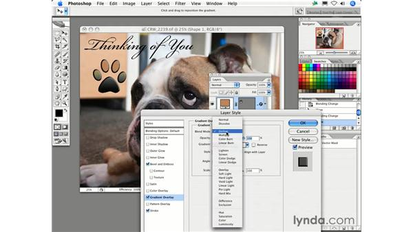 What are Blending Modes and how do I use them?: Photoshop CS2 FAQs