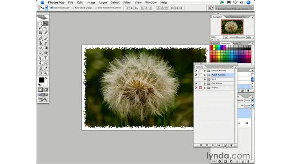 What are Actions and how do I use them?: Photoshop CS2 FAQs