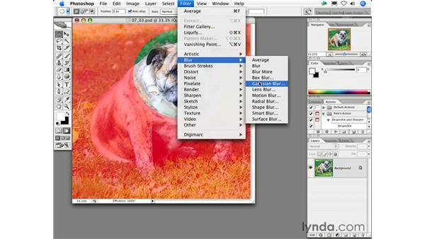 How can I preview the results of a ''feathered'' selection?: Photoshop CS2 FAQs