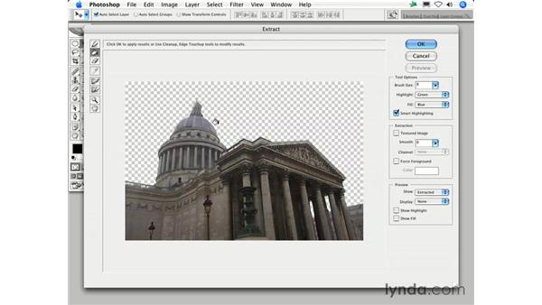 How can I make Extract work for me?: Photoshop CS2 FAQs