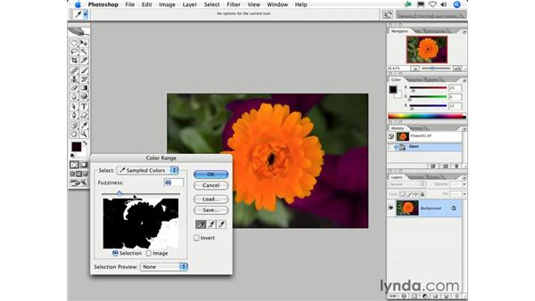 When should I use the Color Range command?: Photoshop CS2 FAQs
