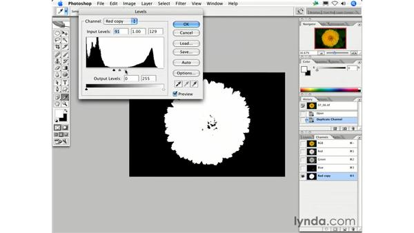 Can I use Channels to make a selection?: Photoshop CS2 FAQs