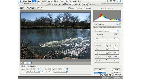 How do I improve the contrast in my photos?: Photoshop CS2 FAQs