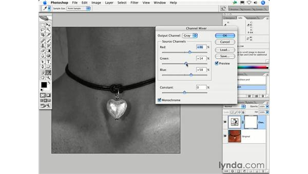 What's the best way to create a grayscale version of my color image?: Photoshop CS2 FAQs
