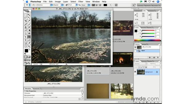 Can I open a Raw file in Photoshop without opening Camera Raw?: Photoshop CS2 FAQs