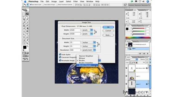 How large of a print can I output from my file?: Photoshop CS2 FAQs