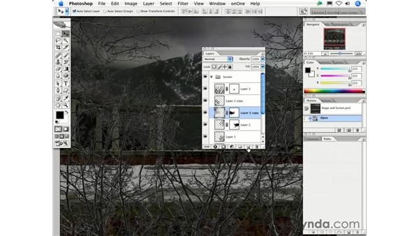 How do I create a new layer under the active layer instead of above?: Photoshop CS2 FAQs