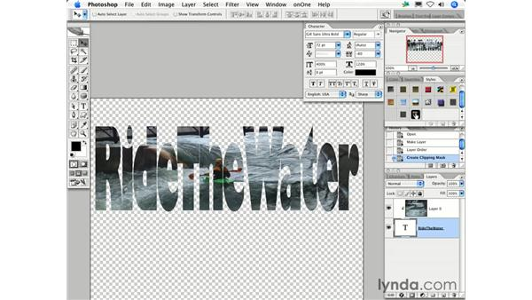 What are Clipping Groups and when do I use them?: Photoshop CS2 FAQs