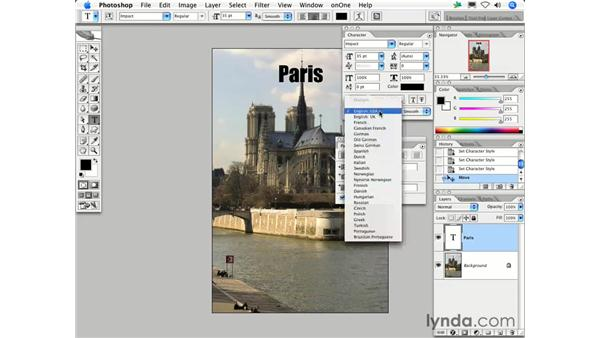 How do I add text to an image?: Photoshop CS2 FAQs