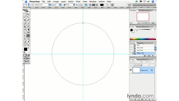 Can I make the type on a circle stay upright at the top and bottom of the circle?: Photoshop CS2 FAQs