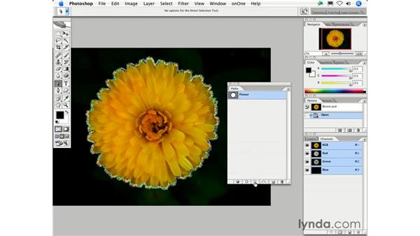How can I convert between Selections and Paths?: Photoshop CS2 FAQs