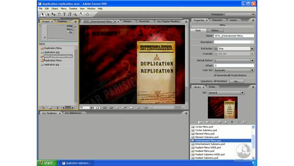 Duplication vs. replication: Encore DVD 2.0 Essential Training