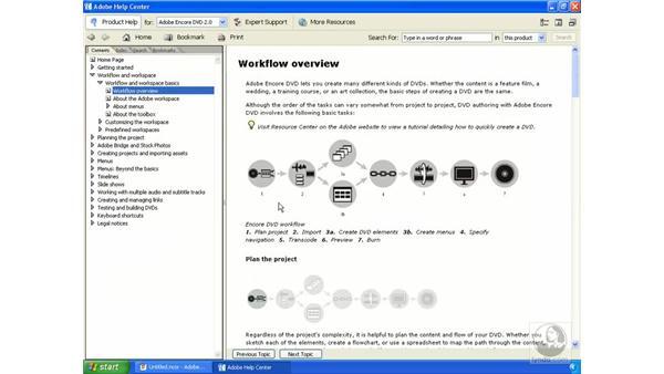 Encore DVD workflow essentials: Encore DVD 2.0 Essential Training