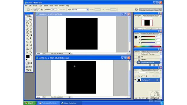 Pixel aspect ratios: Encore DVD 2.0 Essential Training