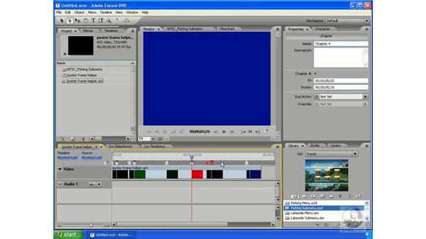 Poster frame primer: Encore DVD 2.0 Essential Training