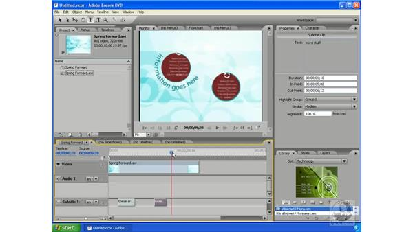 The Monitor: Encore DVD 2.0 Essential Training