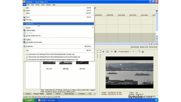 Editing HDV: Vegas 6 Essential Training