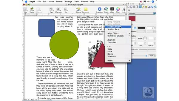 Working with objects: Pages 2 Essential Training